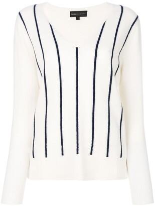 Cashmere In Love Sanem striped jumper