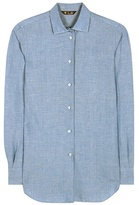 Loro Piana Kara Cotton And Linen-blend Shirt