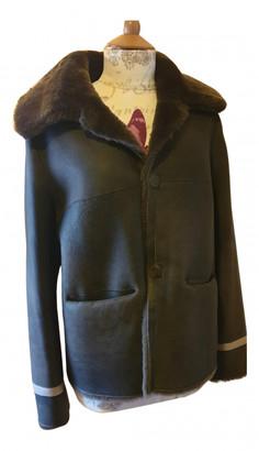 Ventcouvert Green Shearling Coats