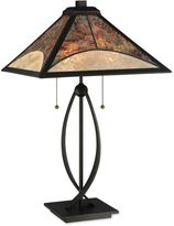 Quoizel Theory Mica 2-Light Table Lamp in Bronze