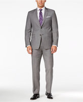 Lauren Ralph Lauren Men's Slim-Fit Black and White Birdseye Suit