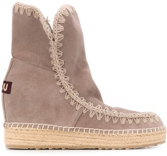 Mou high-top Eskimo boots