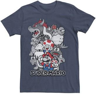 Nintendo Men's Super Mario Kingdom Tee
