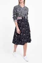 Thom Browne Poppy Embroidered Skirt