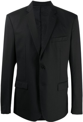 Versace Pre Owned 2000s Single-Breasted Blazer