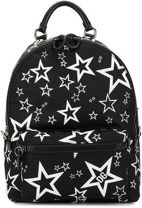 Dolce & Gabbana star print Vulcano backpack