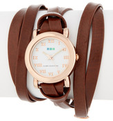 La Mer Women's Saturn Wrap Watch
