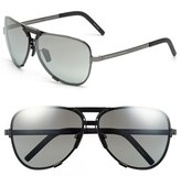 Porsche Design Men's 'P8678' 67Mm Sunglasses - Dark Gunmetal
