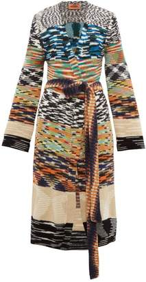 Missoni Block-stripe Cardigan - Womens - Multi