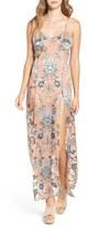 For Love & Lemons 'Saffron' Floral Print Maxi Dress