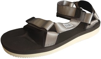 Suicoke Silver Polyester Sandals