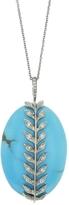 Cathy Waterman Kingman Turquoise Wheat Charm