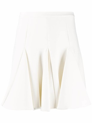 Off-White pleated mini skirt
