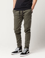 CRASH Zip Twill Mens Jogger Pants
