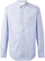Officine Generale pop stripe shirt - men - Cotton - M