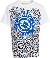 DuFFS Boys Shattered Ds T-Shirt White