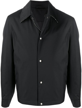 Salvatore Ferragamo Contrast Collar Jacket