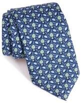Vineyard Vines 'Football Fan' Print Silk Tie