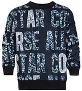 Converse Girls' Holiday Party Print Sweatshirt, Multi