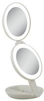 Zadro Next Generation LED Lighted Travel Mirror Tan