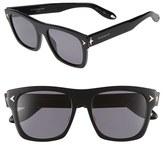 Givenchy Women's 55Mm Polarized Retro Sunglasses - Black