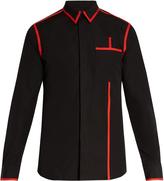 Givenchy Colour-block cotton shirt