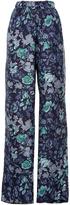 Burberry Silk Printed Pajama Pants