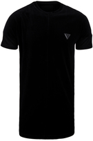 Creative Recreation Loftus Black Velour Long Line T-shirt