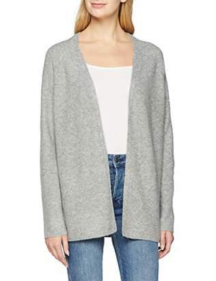 S'Oliver Women's 14.811.64.2103 Cardigan, (Silver Grey Melange Knit 97x0), 12 (Size: )
