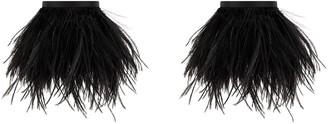 ATTICO Feather Trim Anklet