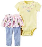 Carter's 2-Pc. Love You Bodysuit & Tutu Leggings Set, Baby Girls (0-24 months)