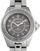 Chanel Women's H2979 Analog Display Swiss Automatic Grey Watch