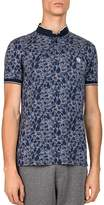 The Kooples Piqué Camo Print Slim Fit Polo