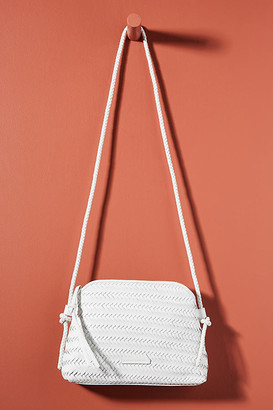 Loeffler Randall Mallory Woven Crossbody Bag By in Pink Size ALL