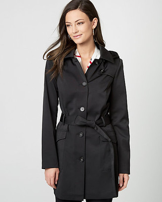 Le Château Cotton Blend Belted Trench Coat