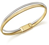 Marco Bicego 18K White and Yellow Gold Masai Two Row Bracelet