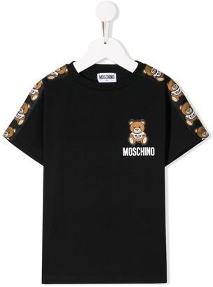 Moschino Kids bear logo T-shirt