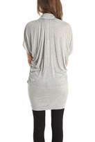 Under.Ligne by Doo.Ri Short Sleeve Draped Cardigan