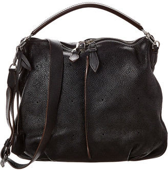 Louis Vuitton Black Mahina Leather Selene Pm