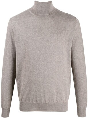 Canali turtle-neck fitted top