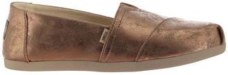 Toms Metallic Alpa Canvas Shoes