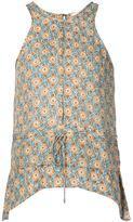 Derek Lam 10 Crosby printed sleeveless top