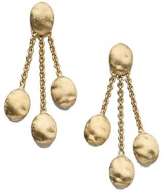 Marco Bicego Siviglia 18K Yellow Gold Three-Strand Earrings