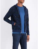 Michael Kors Camouflage-print stretch-cotton hoody