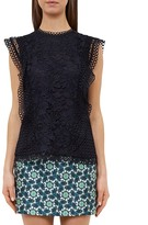 Ted Baker Mixed Lace Top