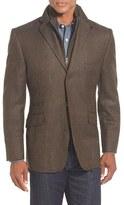 Kroon Men's 'Ritchie' Classic Fit 3-In-1 Blazer