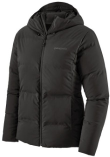 Patagonia Black Polyester Womens Jackson Glacier Jacket - xs   polyester   black - Black/Black