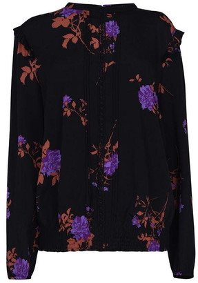 Oasis Curve Floral Lace Top