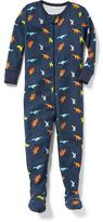 Old Navy Dino-Printed Footed Sleeper for Toddler & Baby