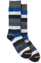 Gap Crazy stripe boot socks